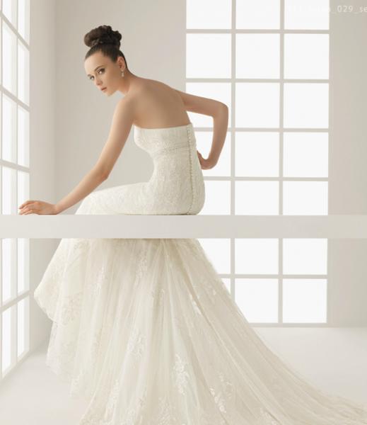 سمبلي وايت - فستان الزفاف - مسقط