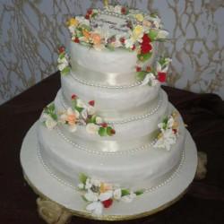السيدة علياء الهيني-كيك الزفاف-صفاقس-1