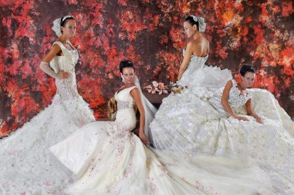لي تروسي - فستان الزفاف - دبي