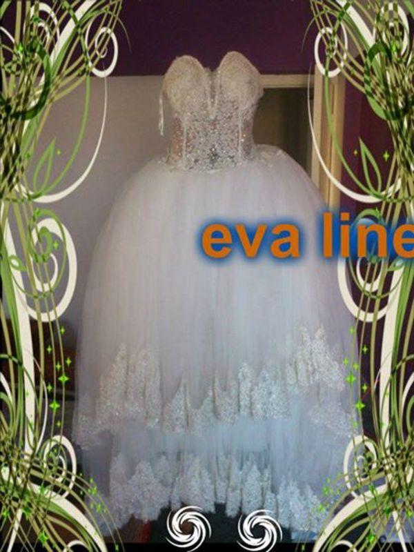 ايفا لاين - فستان الزفاف - مسقط