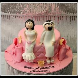 ذا هاوس اوف كيك-كيك الزفاف-دبي-2