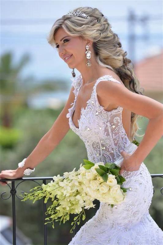 هيلدا كوليكشن - فستان الزفاف - بيروت