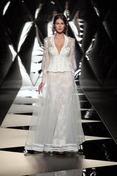 ميريل باريس - فستان الزفاف - بيروت