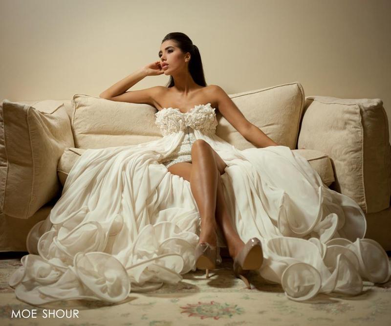 مو شور - فستان الزفاف - بيروت