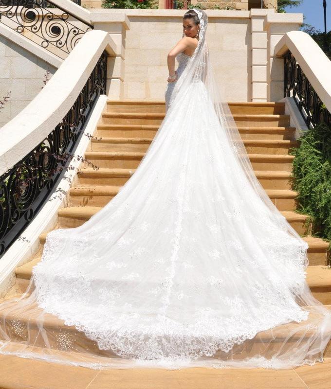 روني ريشا - فستان الزفاف - بيروت
