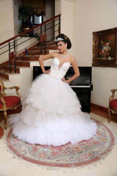اتيلية فاطمة بدر - فستان الزفاف - الاسكندرية