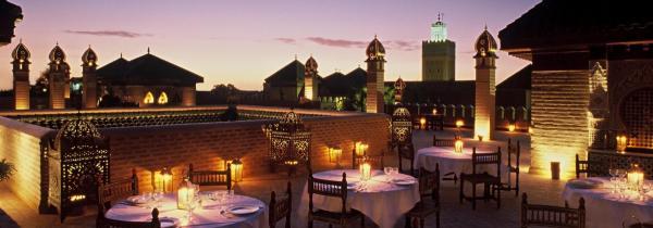 لا سلطانة مراكش - المطاعم - مراكش