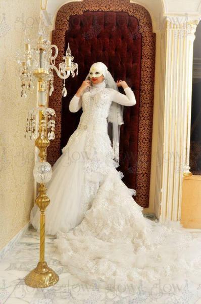 جلو - فستان الزفاف - بيروت