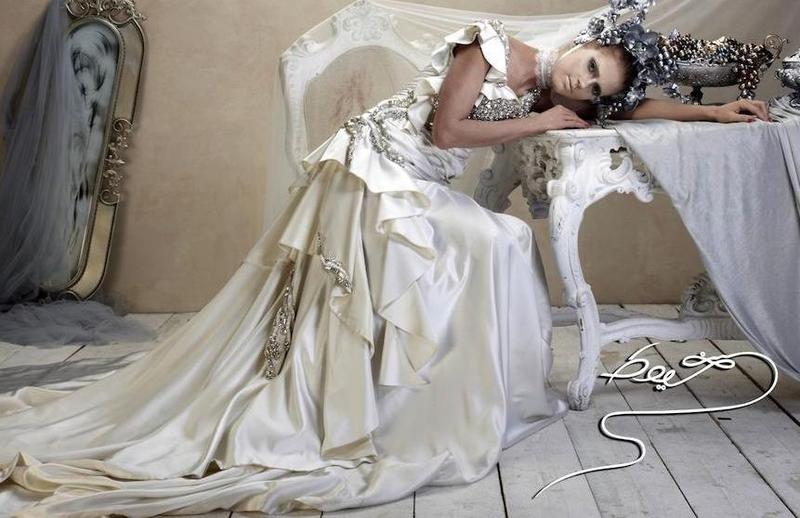 خيوط للأزياء - فستان الزفاف - دبي