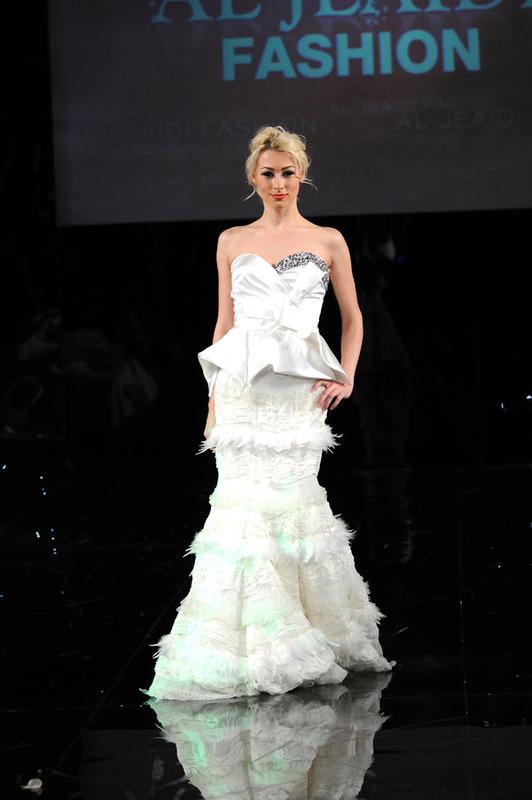 الجعيدي للأزياء - فستان الزفاف - أبوظبي