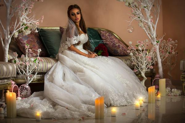 روزالينا لتصميم الأزياء - فستان الزفاف - دبي