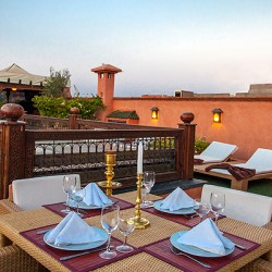 الببغاء الأزرق أجنحة سبا-الفنادق-مراكش-1