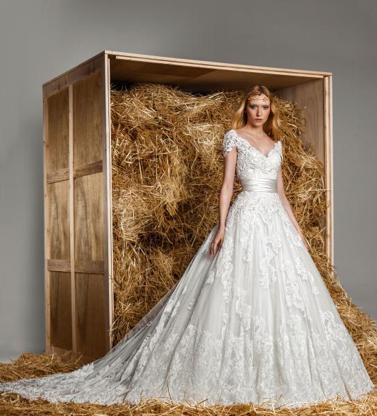 غزلان الخضراء للأزياء - فستان الزفاف - أبوظبي