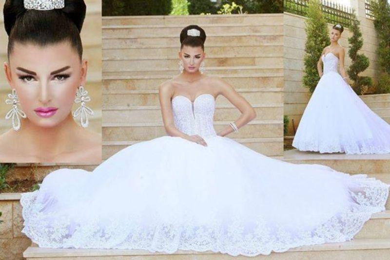جابي صليبا - فستان الزفاف - بيروت