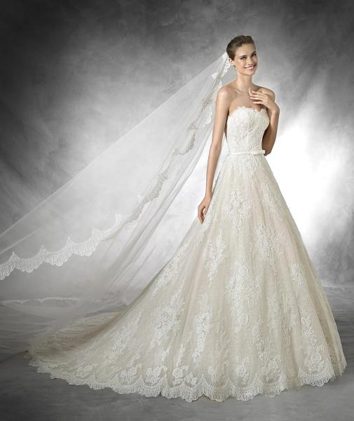 Bridal Gowns Kuwait : Pronovias wedding gowns dubai zafaf