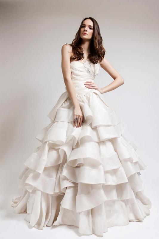 ندى تلحمي - فستان الزفاف - بيروت