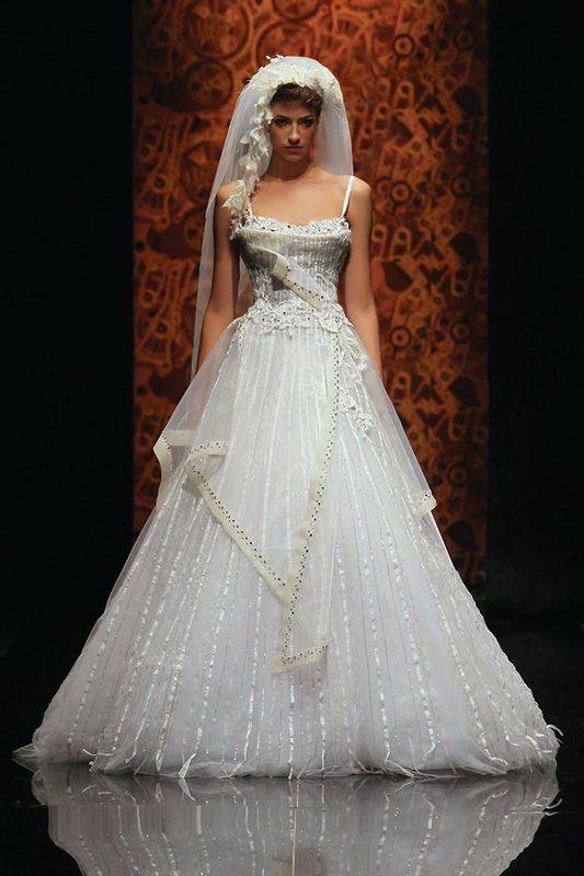رندة سلمون - فستان الزفاف - بيروت