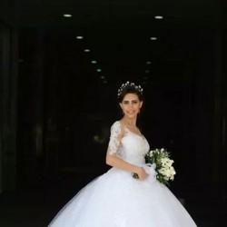 بهية غصين-فستان الزفاف-بيروت-2