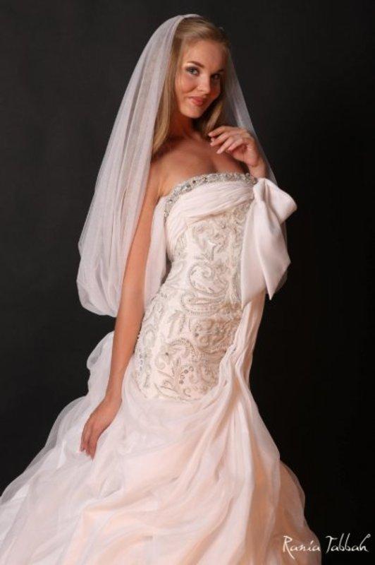 رانيا طباخ - فستان الزفاف - بيروت