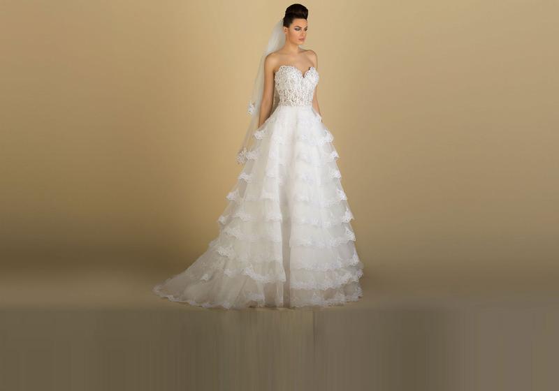 ديلوشي - فستان الزفاف - دبي