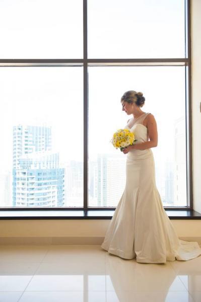 اليزابيث دي نايا - فستان الزفاف - دبي