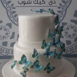 ذا كيك شوب-كيك الزفاف-مدينة الكويت-2