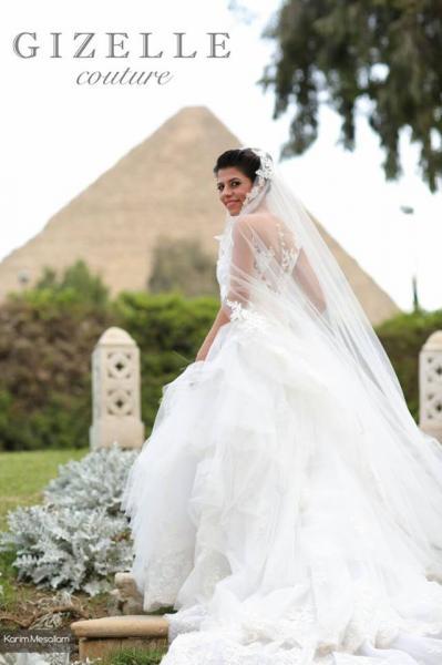 جيزل كوتور - فستان الزفاف - القاهرة