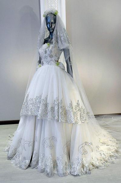 لا بوم كوتور - فستان الزفاف - الدوحة