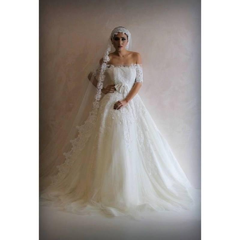 دانتيل هوت كوتور - فستان الزفاف - الدوحة