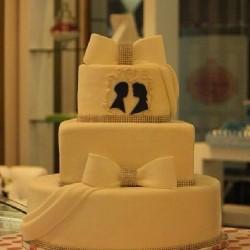 لا ماكرون قطر-كيك الزفاف-الدوحة-4