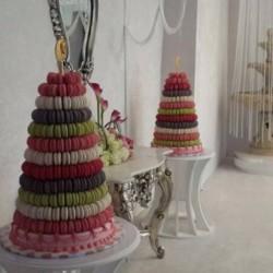 لا ماكرون قطر-كيك الزفاف-الدوحة-2