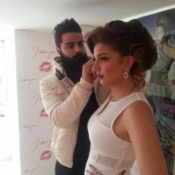 فاضل وماري-الشعر والمكياج-بيروت-3
