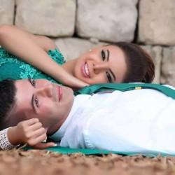 فاضل وماري-الشعر والمكياج-بيروت-1