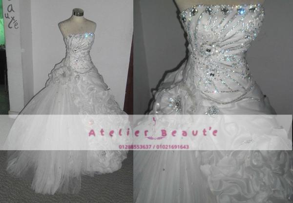 أتيليه بوتيه - فستان الزفاف - الاسكندرية
