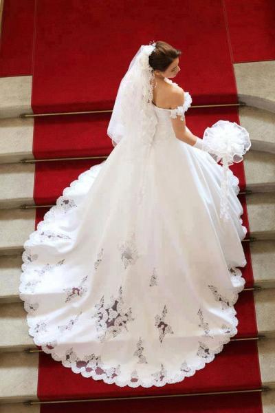 اتيليه نور - فستان الزفاف - الاسكندرية