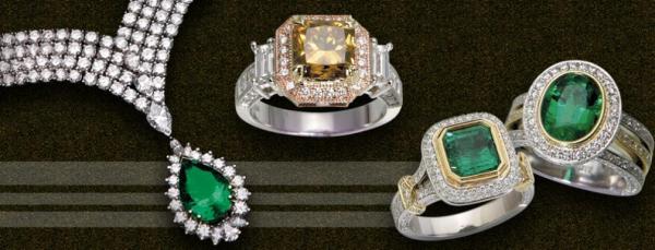 احجار جيم - خواتم ومجوهرات الزفاف - الدوحة