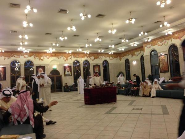 صالة شيخان الفارسي - للرجال - قصور الافراح - مدينة الكويت