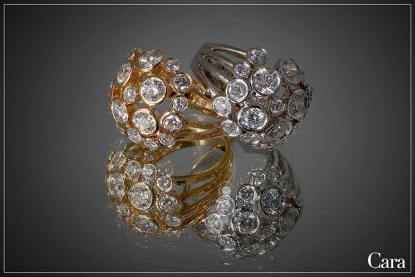 كارا للمجوهرات - خواتم ومجوهرات الزفاف - دبي