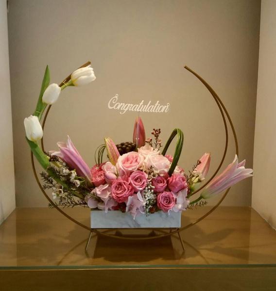 زهرة الوان الخليج - زهور الزفاف - الدوحة