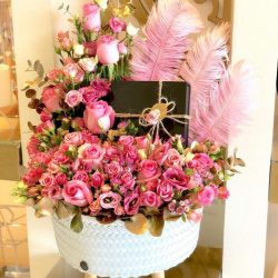 زهرة الوان الخليج-زهور الزفاف-الدوحة-5