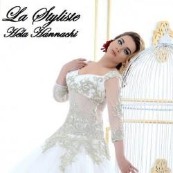 المصمم هيلا حناشي-فستان الزفاف-مدينة تونس-2