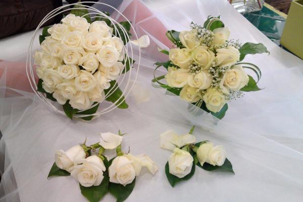 نيابة عن روز مرسويس - زهور الزفاف - مدينة تونس