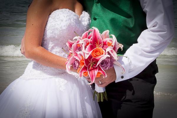 والزهور وأنا - زهور الزفاف - الرباط