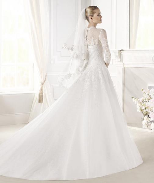 السيدة  الأندلسي - فستان الزفاف - الرباط