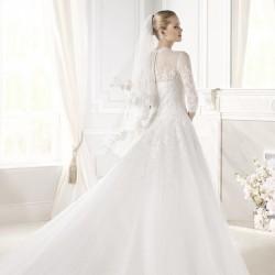 السيدة  الأندلسي-فستان الزفاف-الرباط-1