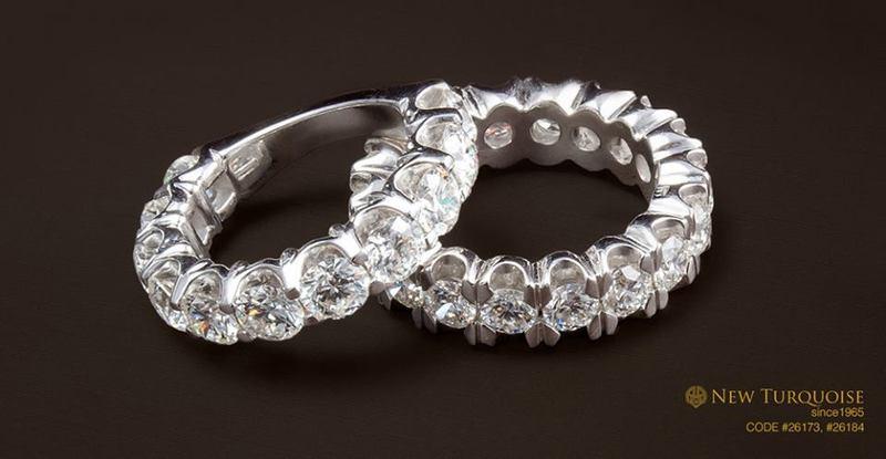 نيو تركواز الماس - خواتم ومجوهرات الزفاف - القاهرة