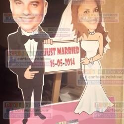 كارتون رينبو-دعوة زواج-القاهرة-5