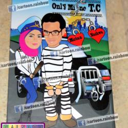 كارتون رينبو-دعوة زواج-القاهرة-4