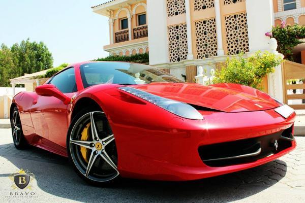 برافو - سيارة الزفة - دبي