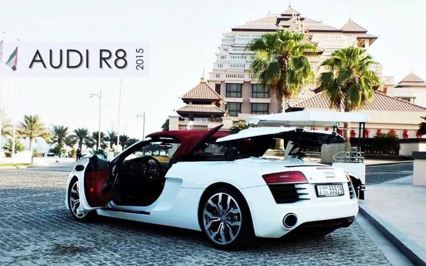 في ام اف - سيارة الزفة - دبي